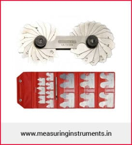 radius gauge supplier