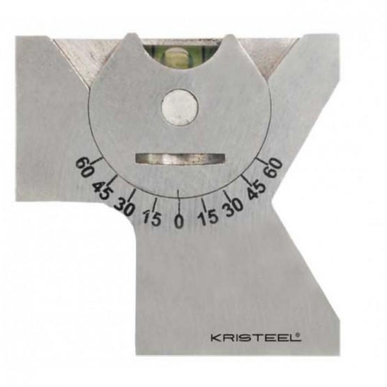 DELUX CNC TOOL SEETING GAUGE WITH ANGEL SCALE