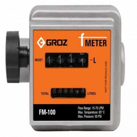 F METER – HIGH ACCURACY MECHANICAL FUEL METER
